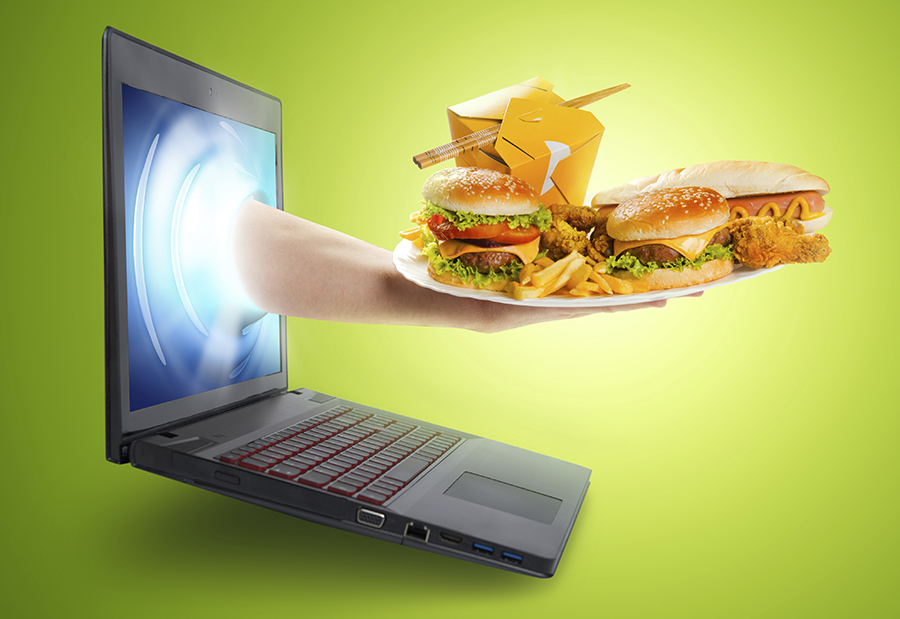 Americans Addicted to Getting Food off the Internet