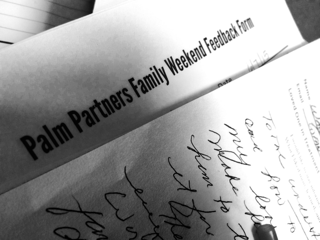 Personal Letters from Palm Partners Family Program