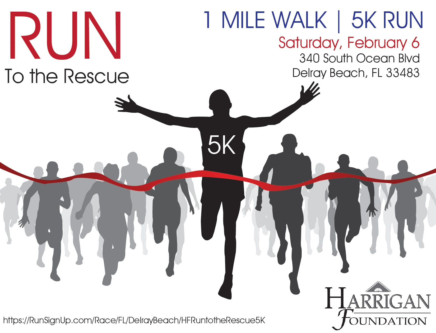 Run to the Rescue 5K/1 Mile Walk for First Responders Fighting Addiction