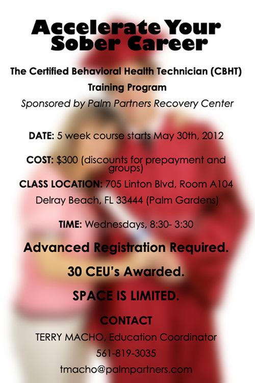 Certified Behavioral Health Technician